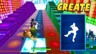 I Created Fortnite DANCES using MUSIC BLOCKS In Fortnite.. (Fortnite)