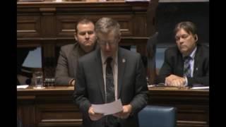 Minister Pedersen gives a flood update
