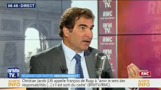"""Christian Jacob était Dans """"Bourdin Direct"""" Sur RMC Et BFMTV"""