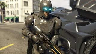 BvS ARMORED BATMAN SAVES LOS SANTOS | GTA 5 Modded Funny Moments