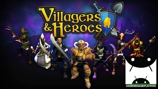 Villagers & Heroes 3D MMO Android GamePlay Trailer [1080p/60FPS] (By Mad Otter Games)