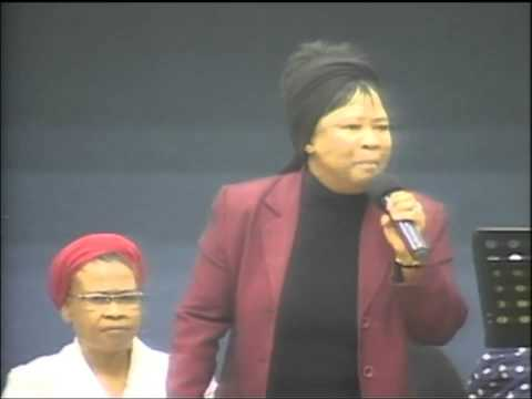 mam Thabisile Mahlaba I can not come down Gods Army Crusade