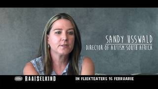 SANDY USSWALD Talking about Raaiselkind (Riddle Child)
