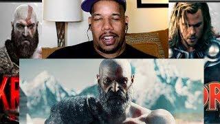 Kratos VS Thor FiGHT!! (REaction)