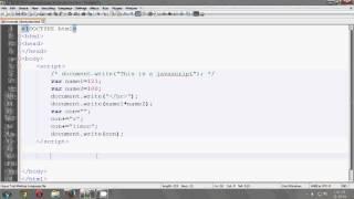 Javascript Bangla Tutorial #2 (concatenation)
