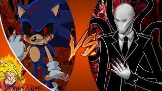 SONIC_exe vs SLENDERMAN! Cartoon Fight Club Episode 101 REACTION!!!