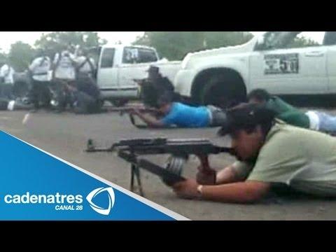 Autodefensas hacen suyo Nueva Italia Michoacán; balacera contra narcos deja un muerto