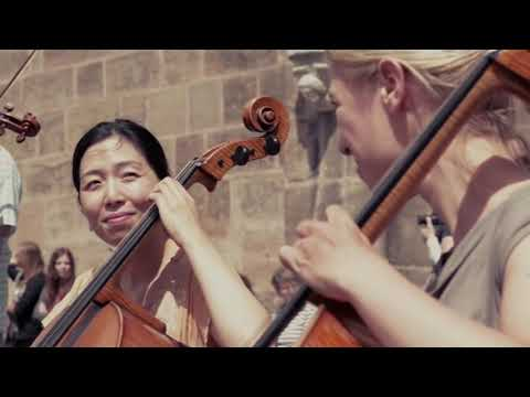 Flashmob Nürnberg 2014 Ode an die Freude