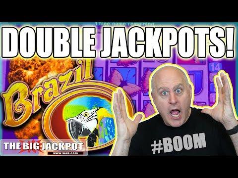 2 Brazil Bonus Jackpots! 🎰 BIG WIN$ | The Big Jackpot