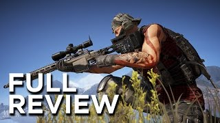 Ghost Recon: Wildlands Full Review - Open World Design, Paint-By-Numbers Delivery