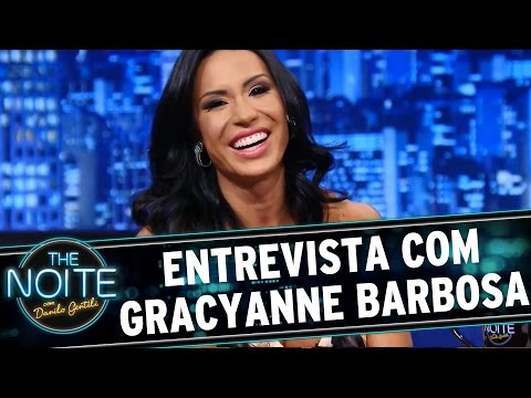 The Noite 30 09 15 Entrevista com Gracyanne Barbosa