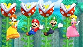 Mario Party 9 Free Play - Peach vs Mario vs Luigi vs Daisy Master Difficulty| Cartoons Mee