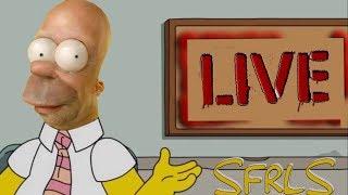 FR / HD - LES SIMPSON EN DIRECT LIVE 24/7 - FAIS TA PUB - #SFRLS