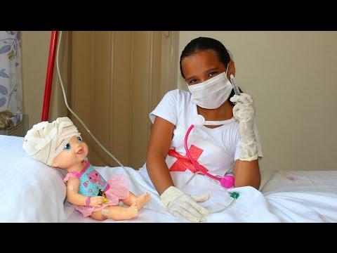 Baby Alive fica Internada no Hospital