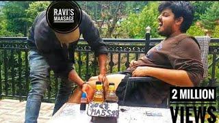 Best Indian Head and Thigh Massage-Head, scalp & Deep tissue massage by Ravi   Kasol  ASMR