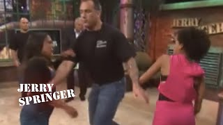 Jerry Springer Official - Stop SLEEPING With My Sisters!