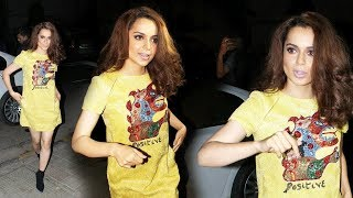 Kangana Ranaut FIRST PUBLIC Appearance After Attending Cannes 2018