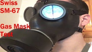 Swiss SM-67 Gas Mask Review and Test