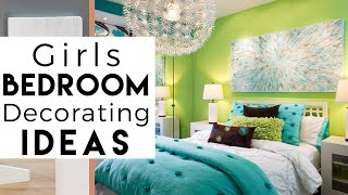 Room Tour | Girls bedroom decorating Ideas