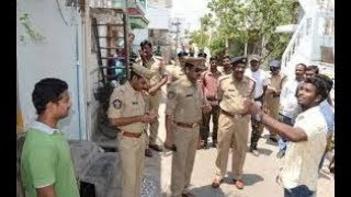Police Cordon Search Operation in Hyderabad