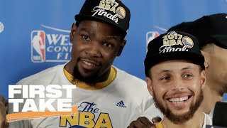 Kevin Durant or Stephen Curry: The Ultimate Warrior? | First Take | May 23, 2017