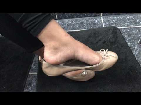 Indian feet in flats