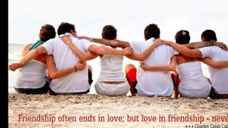 Friendship Song -