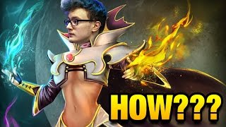 How To Win This Game? RAT Mode Turned On by Miracle- [Invoker] Dota 2 7.05