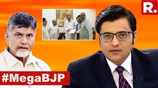 Chandrababu Naidu's Delhi Leadership Wiped Out | The Debate With Arnab Goswami