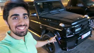 Riding a Mercedes G-Wagon !!!