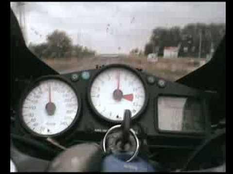 Malina na Kawasaki ZX12R 308km h