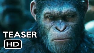 War for the Planet of the Apes Trailer #2 Teaser (2017) Action Movie HD