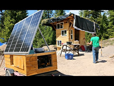 49 sq. foot Tiny House for Mountain Retirement