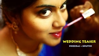 Dheeraj and Kruthi - Cinematic Wedding Highlights
