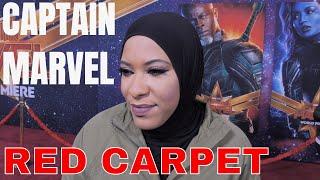 Captain Marvel Red Carpet World Premiere Interviews PART 2