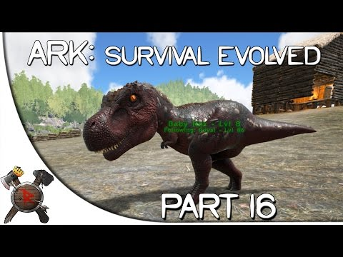 Ark: Survival Evolved Gameplay - Part 16: