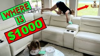 Find $1000 HIDDEN In Our HOUSE!!!💲💚