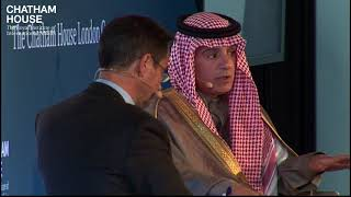 In Conversation with HE Adel al-Jubeir, Minister of Foreign Affairs, Saudi Arabia (highlights)