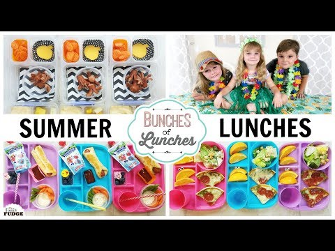 LUNCHES for the HOTTEST Week of SUMMER Blanket Forts Movies and GAMES