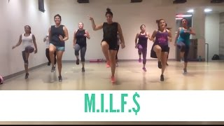 M.I.L.F $ by Fergie || Cardio Dance Party with Berns
