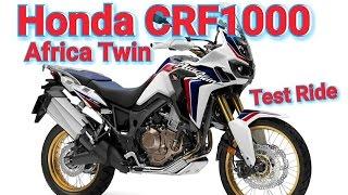 Honda CRF1000 Africa Twin Test Ride