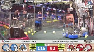 Semifinal 4 - 2017 Greater Pittsburgh Regional
