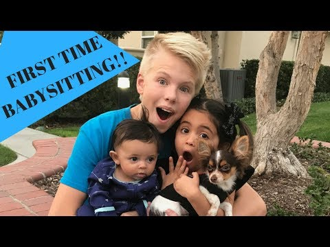 Xxx Mp4 Carson Lueders Babysits Ava And Jayden First Time EVER Babysitting 3gp Sex