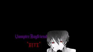 ASMR VAMPIRE Boyfriend | Bites, Male Whisper, Kissing, Romantic