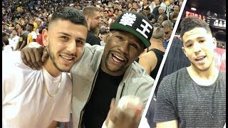 Floor seats w/ FLOYD MAYWEATHER! (Devin Booker, Isaiah Thomas & MORE)