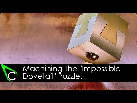 Machining The Impossible Dovetail Puzzle 100 000 Subscribers Thank You Giveaway Winner Drawn