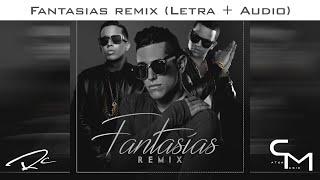 Lenny Tavarez (Ft. De La Ghetto Y J Alvarez) - Fantasias (Remix) LYRIC VIDEO (LETRA)