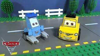 LEGO CARS 3 Guido and Luigi