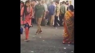 bhairava movie shooting spot video leaked   Vijay and keerthi suresh scene leaked