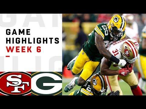 Xxx Mp4 49ers Vs Packers Week 6 Highlights NFL 2018 3gp Sex